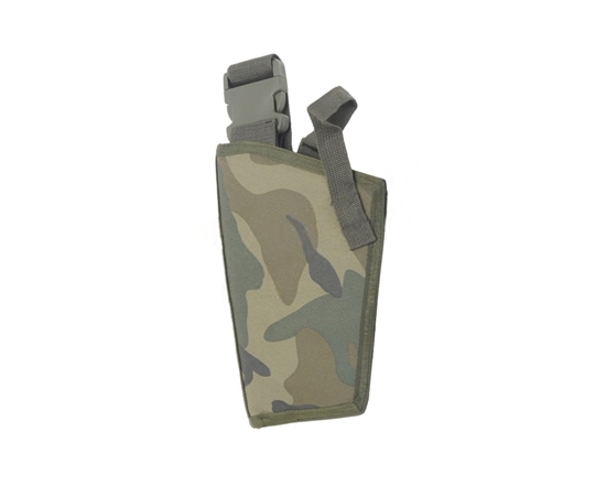 Special Ops Left Handed Basic Holster - Woodland Camo