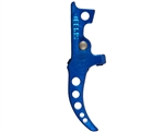 Speed Curved Tunable HPA M4 Trigger - Blue (SA5015)