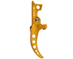 Speed Curved Tunable HPA M4 Trigger - Gold (SA5008)
