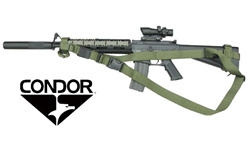 Condor Tactical Advanced Adjustable 3 Point Sling ( OD GREEN )
