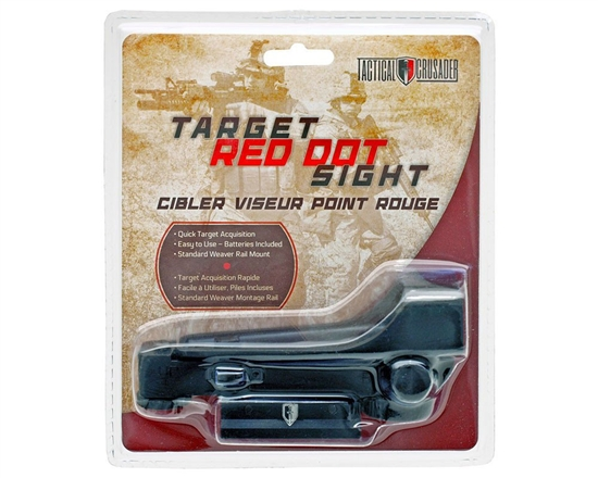 Tactical Crusdader Target Red Dot Sight