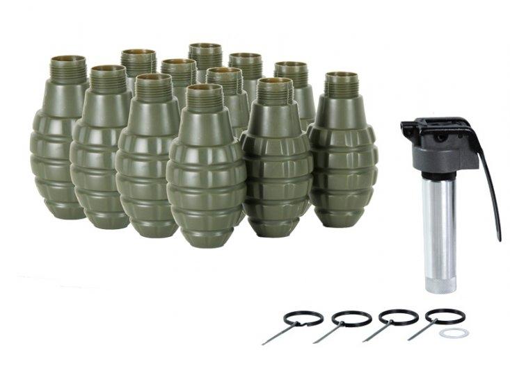 Hakkotsu Thunder B CO2 V 2 Pineapple Complete Sound Grenade Kit