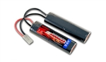 Tenergy 9.6v 2000mAh NiMH Small Type Nunchuck Airsoft Rechargeable AEG Gun Battery