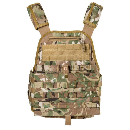 Tiberius Arms EXO Tactical Airsoft Vest w/ Molle Attachments - TriCam