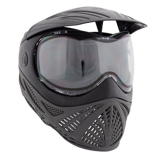Tippmann Tactical Intrepid Full Face Airsoft Mask - Black/Grey