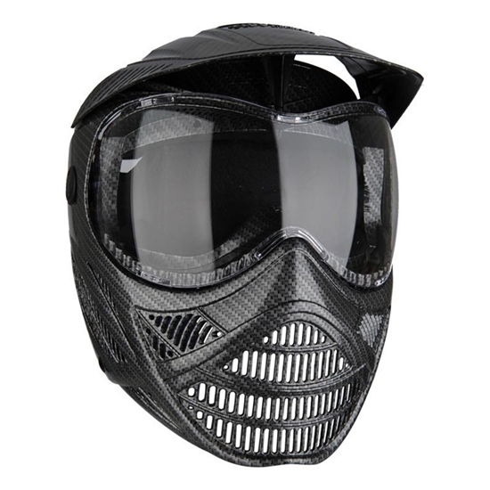 Tippmann Tactical Valor FX Full Face Airsoft Mask - Carbon Fiber (T295015)