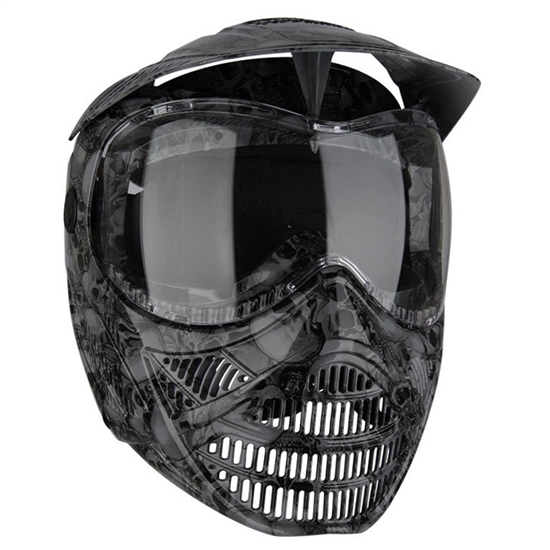 Tippmann Tactical Valor FX Full Face Airsoft Mask - Skull (T295014)