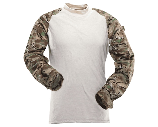 Truspec Tactical Response Uniform Combat Shirt - All Terrain Tiger Stripe