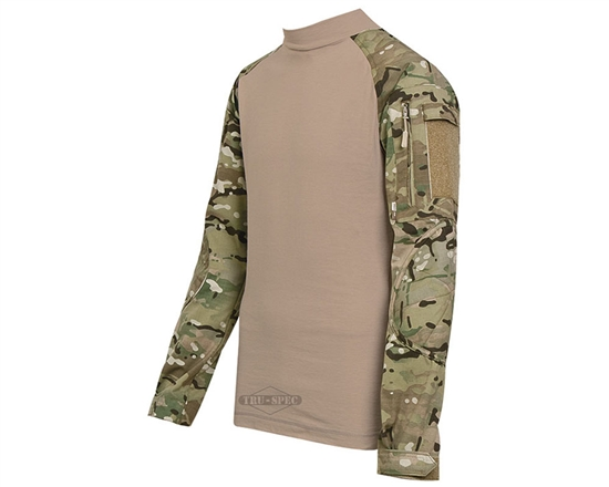 Truspec Tactical Response Uniform Combat Shirt - Multicam/Coyote