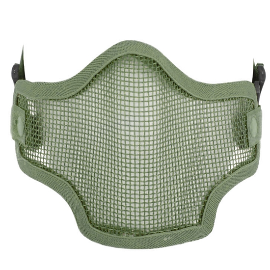 Valken Tactical 2G Wire Mesh Airsoft Face Mask - Green