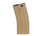 Valken 300 Rounds Metal Hi-Cap M16 Magazine - Tan (76286)