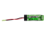 Valken 8.4v 1600mAh NiMH Flat Brick Mini Airsoft Battery (48061)