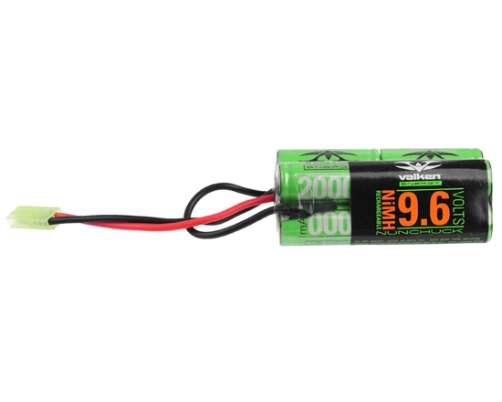 Valken 9.6v 2000mAh NiMH Split Airsoft Battery (48139)