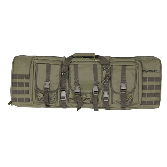 "Valken 36"" Tactical Double Airsoft Gun Bag - Olive Drab"