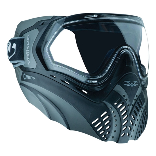 Valken Tactical Identity Full Face Airsoft Mask - Black/Grey