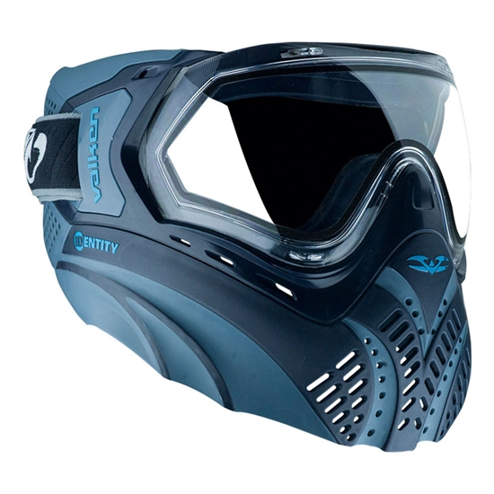 Valken Tactical Identity Full Face Airsoft Mask - Blue/Navy