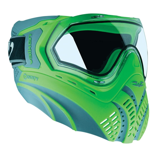 Valken Tactical Identity Full Face Airsoft Mask - Green/Grey