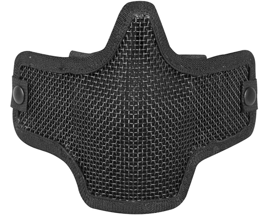 Valken Tactical Kilo 2G Wire Mesh Airsoft Face Mask - Black