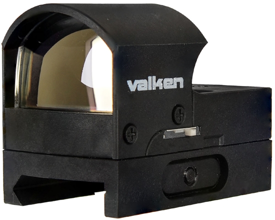 Valken Tactical Optic - Mini Hooded Reflex Red Dot Sight (Molded) (101759)