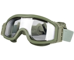 Valken Tactical V-Tac Tango Airsoft Goggles - Thermal Lens - Olive