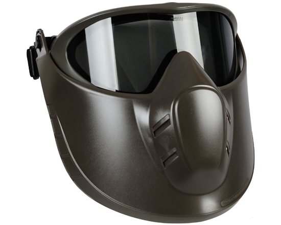 Valken Tactical Thermal VSM Goggles with Face Shield - Olive/Grey
