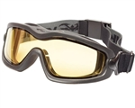V-TAC Sierra Airsoft Safety Goggles w/ Amber Lens