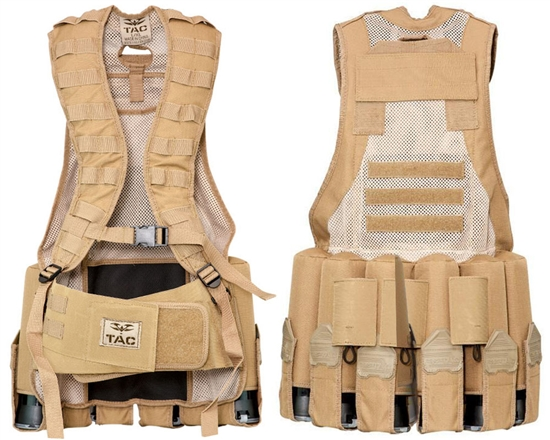 Valken Tactical Echo Airsoft Vest - Tan