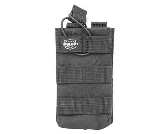 Valken Tactical Vest Accessory Pouch - One Magazine AR Pouch (Black)