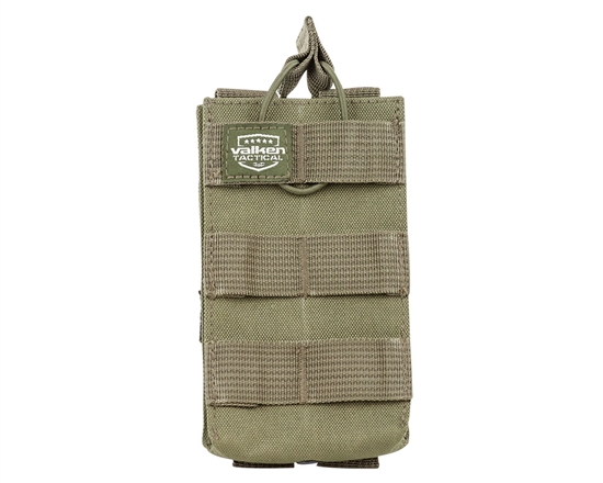 Valken Tactical Vest Accessory Pouch - One Magazine AR Pouch (Green)