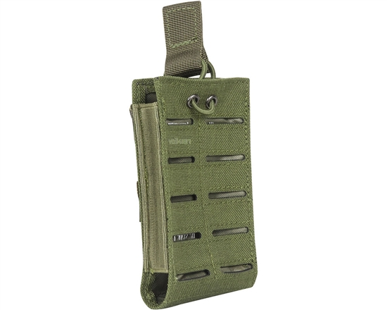 Valken Tactical Vest Accessory Pouch - One Magazine Multi-Rifle Pouch LC (Olive)
