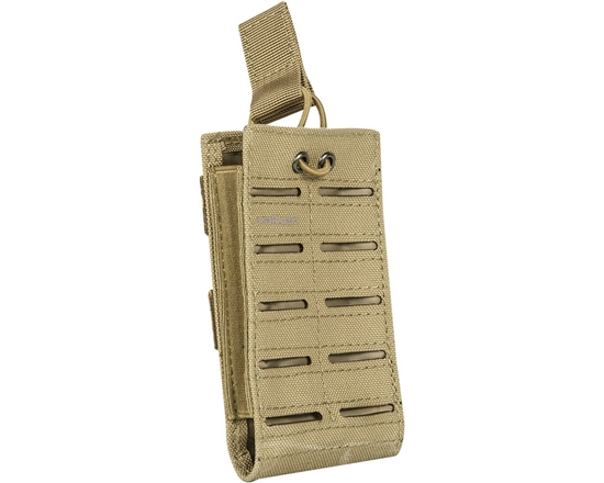Valken Tactical Vest Accessory Pouch - One Magazine Multi-Rifle Pouch LC (Tan)