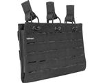 Valken Tactical Vest Accessory Pouch - Three Magazine Multi-Rifle Pouch LC (Black)
