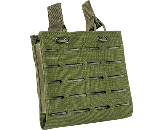 Valken Tactical Vest Accessory Pouch - Two Magazine Multi-Rifle Pouch LC (Olive)