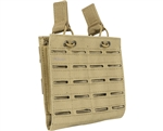 Valken Tactical Vest Accessory Pouch - Two Magazine Multi-Rifle Pouch LC (Tan)
