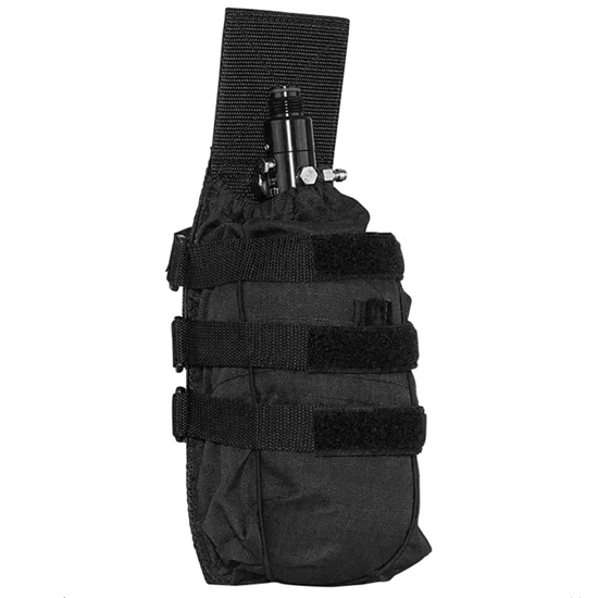 Valken Tactical Vest Accessory Pouch - Universal Tank Holder ( Black )