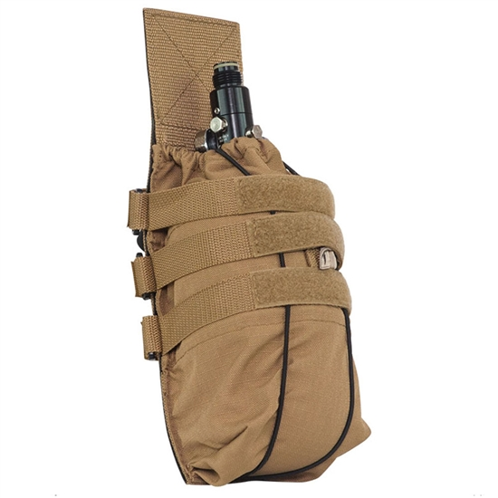 Valken Tactical Vest Accessory Pouch - Universal Tank Holder ( Tan )