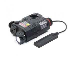 VFC PEQ15 Illuminator Aiming Module LED and Laser - Black