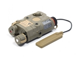 VFC PEQ15 Illuminator Aiming Module LED and Laser - Dark Earth