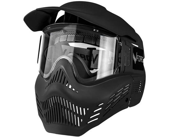 V-Force Tactical Armor Full Face Airsoft Mask - Black