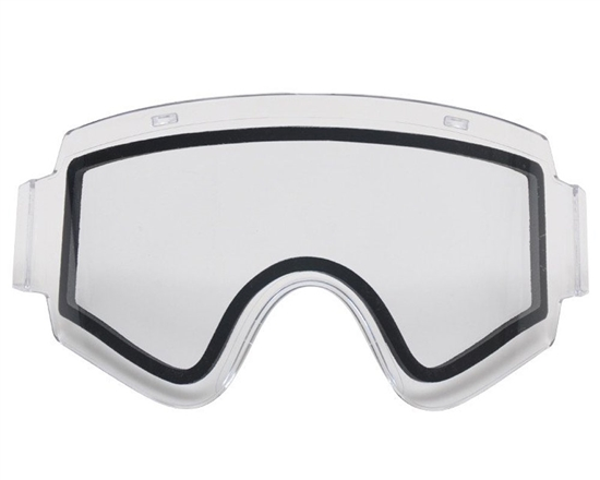 V-Force Dual Pane Anti-Fog Ballistic Rated Thermal Lens For Armor Masks (Clear)