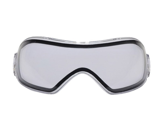 V-Force Dual Pane Anti-Fog Ballistic Rated Thermal Lens For Grill Masks (Clear)