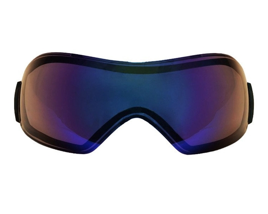 V-Force Dual Pane Anti-Fog Ballistic Rated Thermal Lens For Grill Masks (Mirror Blue)