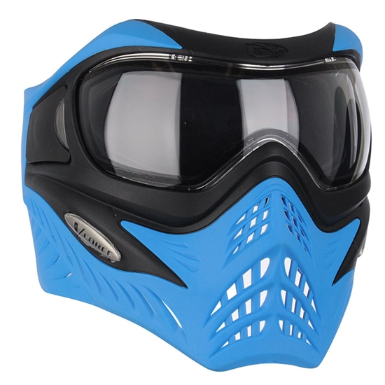 V-Force Tactical Grill Airsoft Mask - Black/Blue