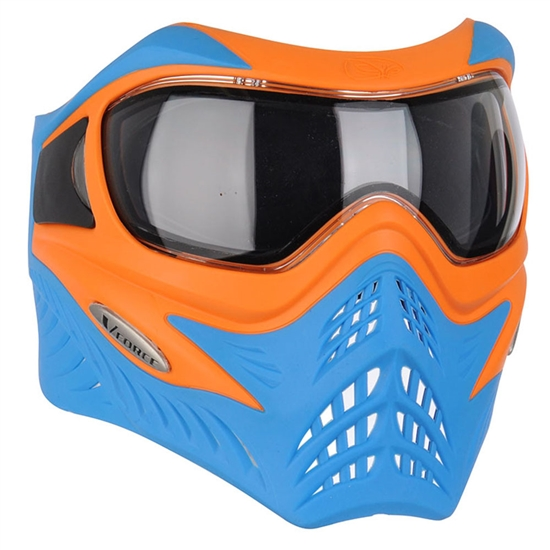 V-Force Tactical Grill Airsoft Mask - Orange/Blue