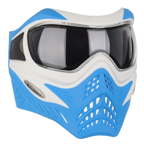 V-Force Tactical Grill Airsoft Mask - White/Blue