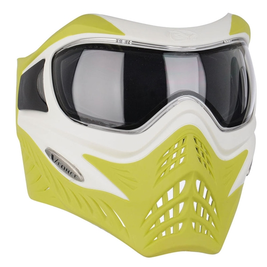 V-Force Tactical Grill Airsoft Mask - White/Lime