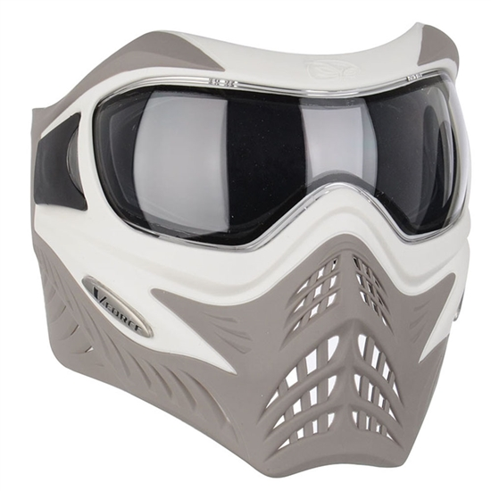 V-Force Tactical Grill Airsoft Mask - White/Taupe