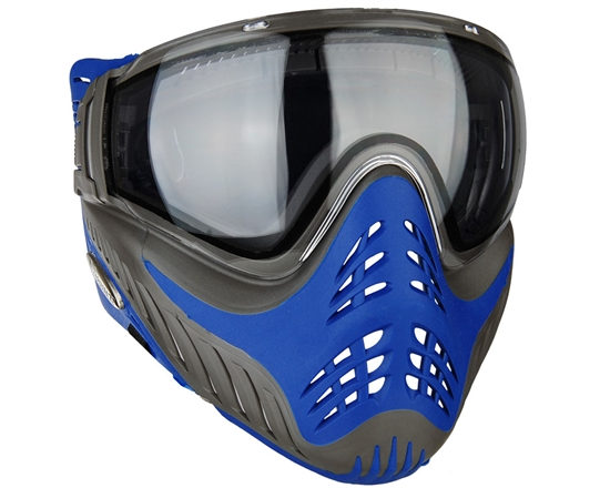 V-Force Tactical Profiler Airsoft Mask - Grey/Blue (Azure)