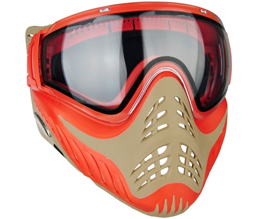 V-Force Tactical Profiler Airsoft Mask - Red/Tan (Sunfire)
