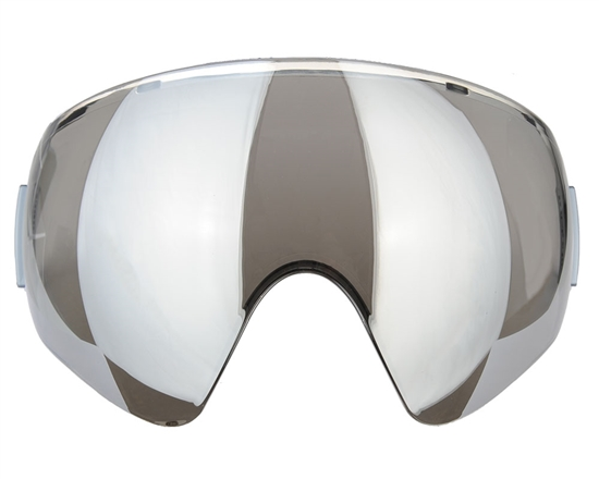 V-Force Single Pane Anti-Fog Ballistic Rated Lens For Profiler Masks (Mirror Chrome)